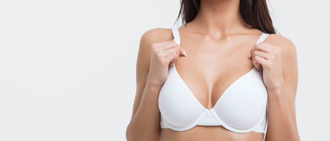 breast reduction surgery - model image